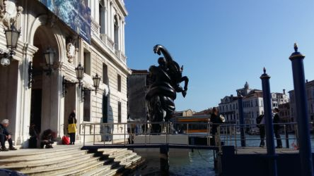 Palazzo Grassi, Canal Grande. The Fate of a Banished Man (Rearing)