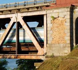 Ponte su Po a Bressana Bottarone (© Il Ticino)