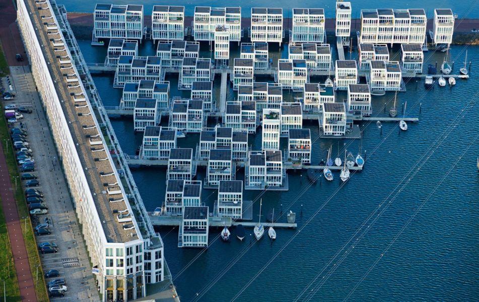 Floating Houses in Ijburg, Amsterdam (2011)