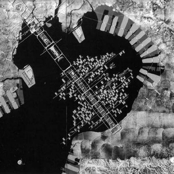 Masterplan Baia di Tokyo, Tokyo (1960)
