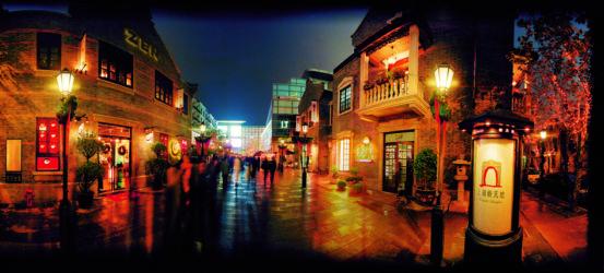 Xintiandi by night (© Studio Shanghai)