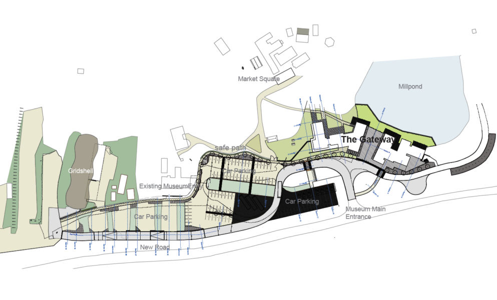 Mappa dell'intervento di Abir Architects