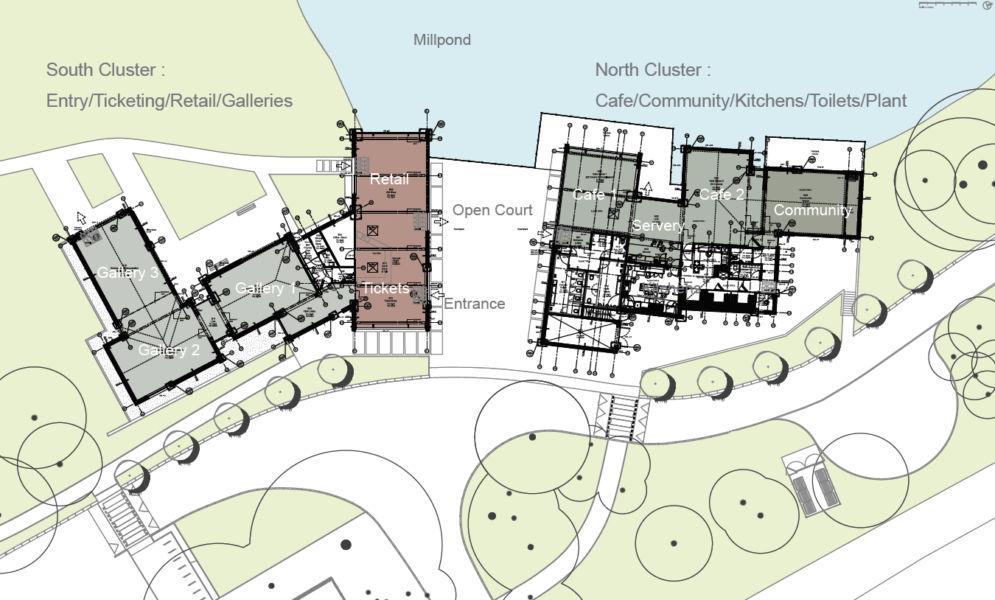 Dettaglio dell'intervento di Abir Architects