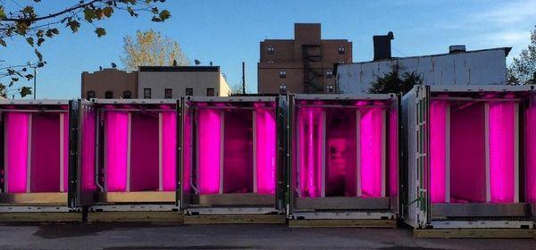 Square Roots, container produttivi da installare in città