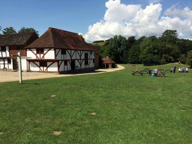 Casa medievale smantellata nel Kent e ricostruita al Weald & Downland Open Air Museum