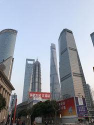 Le torri di Shanghai oggi (foto di Anna Pagani)