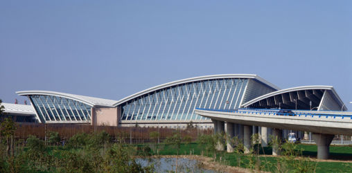 Paul Andreu, Shanghai Pudong International Airport