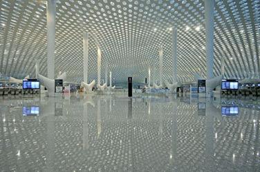 Studio Fuksas, nuovo terminal dell'aeroporto di Shenzhen Bao'an