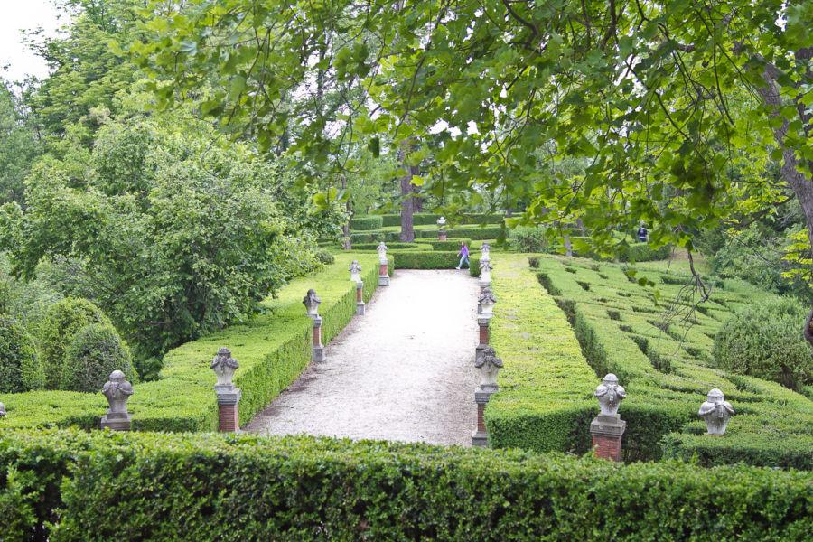 Castello di Gabiano, giardino © Giorgio Olivero