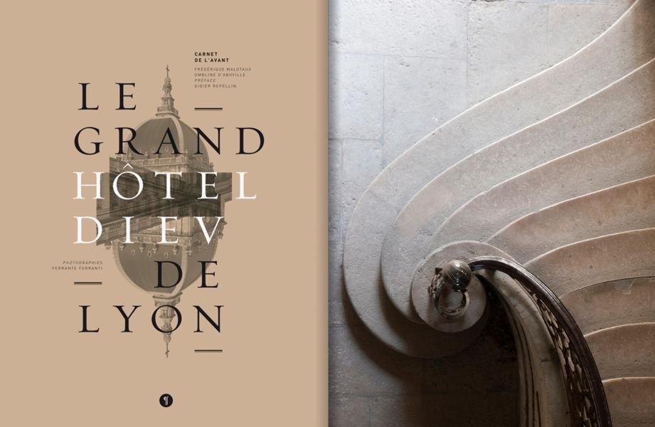 Le Grand Hotel Dieu de Lyon, copertina libro ed Libel