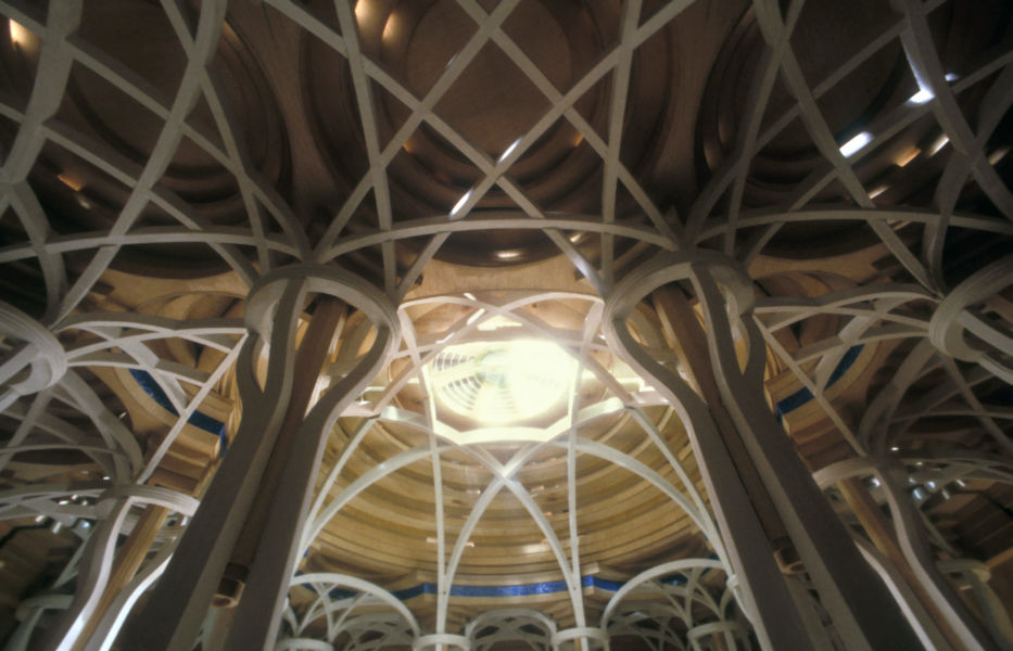 PAOLO PORTOGHESI Moschea e Centro Culturale Islamico, Roma  1984-1995 Modello courtesy Fondazione MAXXI
