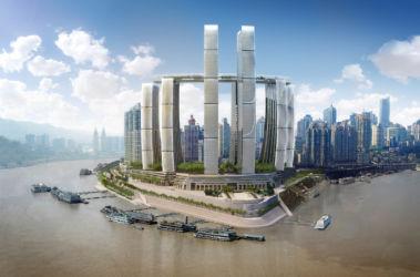 Moshe Safdie Architects, progetto per Raffles City