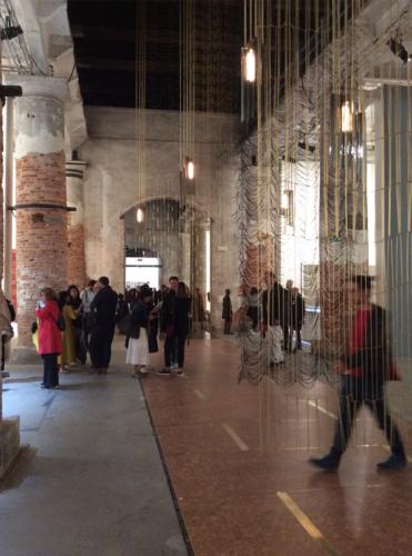 Padiglione delle Tradizioni. Leonor Antunes, I Stand like a mirror before you…