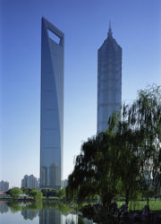 Kohn Pedersen Fox (KPF), World Financial Center a Shanghai