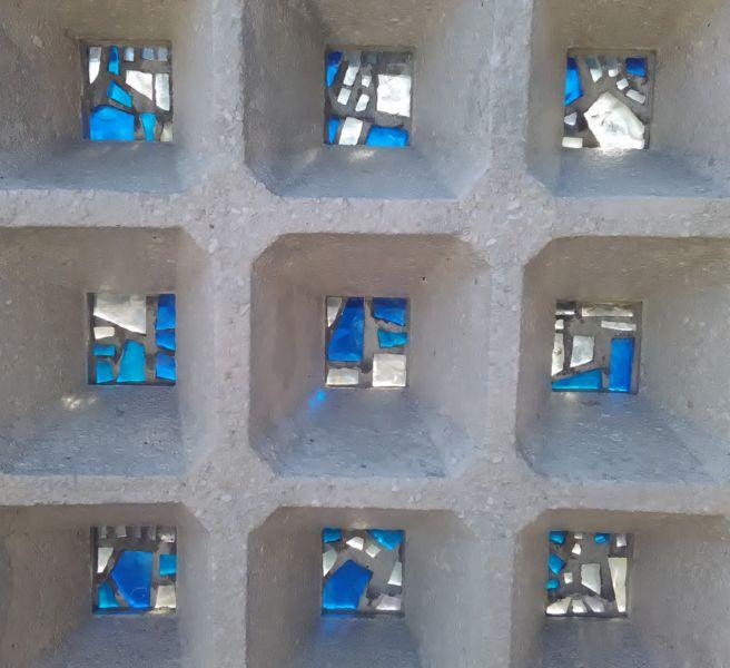 Dettaglio struttura a nido d'ape (© Francesca Petretto)