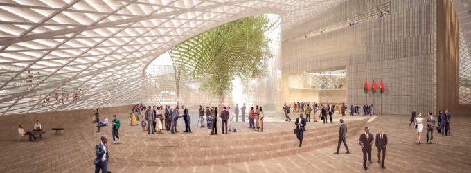 Burkina Faso National Assembly & Memorial Park