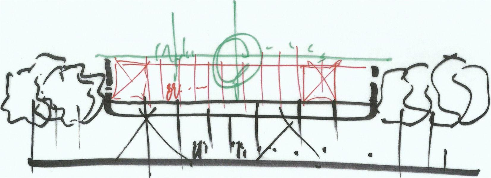 Schizzo Renzo Piano