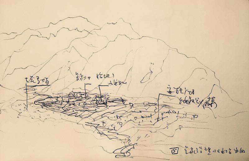 Yanqing Zone, sketch