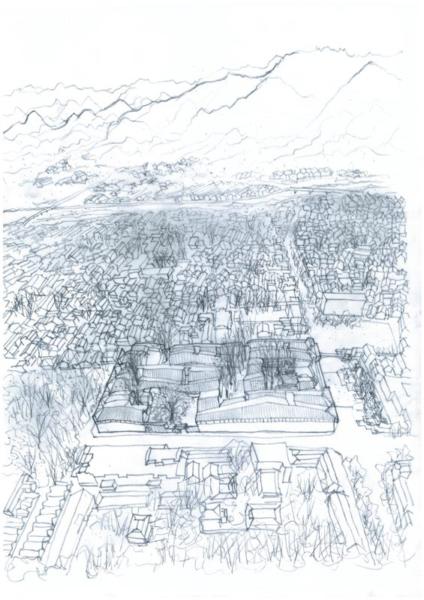 Jixi Museum, sketch