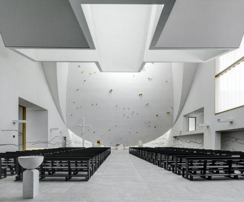 Vista interna dell'aula (©Andrea Martiradonna, AAAA quattroassociati)