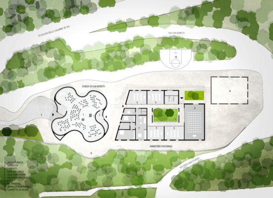 Pianta piano terra (©MCA, Engram Studio)