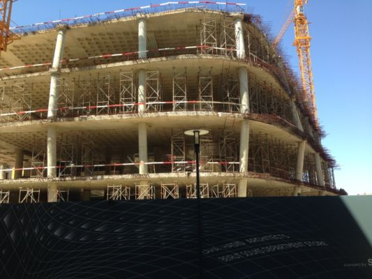 Zaha Hadid Architects, cantiere del North Souks Department Store