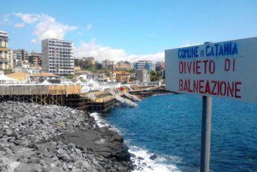 I lidi balneari di Catania