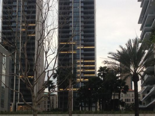 Preesistenze e nuovi interventi nell'area di Minet el Hosn