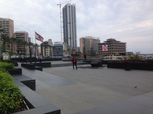 Spazi pubblici nell'area di Minet el Hosn