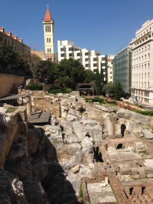Studio Gillespies, sistemazione dell'area delle terme romane