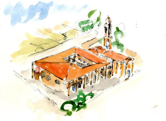 Chiesa di Savonera, Collegno (©isolarchitetti)