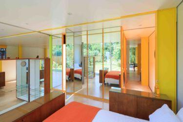 Wimbledon House: camera da letto con gli arredi di Ernesto Rogers (© Iwan Baan. Courtesy of the Harvard Graduate School of Design)