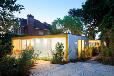 Wimbledon House: fronte giardino su 22 Parkside (© Iwan Baan. Courtesy of the Harvard Graduate School of Design)