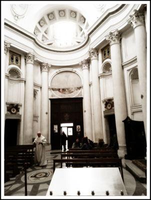 Tino Grisi, Mensa della Parola, San Carlino alle Quattro Fontane, 2005 (©Tino Grisi)