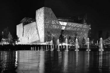 Nemesi Studio, Palazzo Italia all'Expo Milano 2015 (cemento i.active Biodynamic di Italcementi; foto di E. Chakroff)
