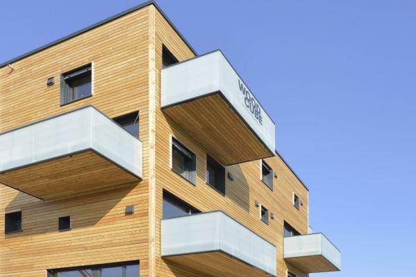"""Wood Cube"" ad Edimburgo"