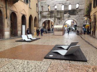 Marmomac & the City 2015, Portoni Borsari, Sinuosa di E.Larquetoux con Testi Group