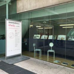 Marmomac & the City 2016, Biblioteca Civica, Mr Statuario & Miss Calacatta di M.Andreoni con Bruno Lucchetti Marmi e Graniti