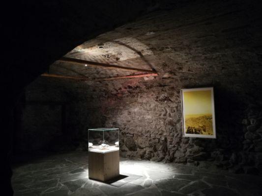 Museo di Bagnes, esposizione di Claudio Moser ©Elena Franco