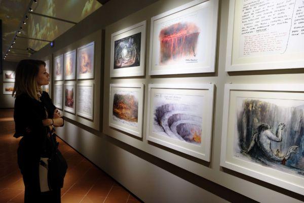 Sala del Museo (PRESSPHOTO Foto Moggi/New Press Photo)