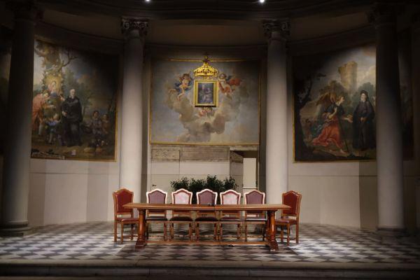 Sala della Musica (PRESSPHOTO Foto Moggi/New Press Photo)