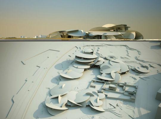 National Museum of Qatar a Doha, progetto di Jean Nouvel